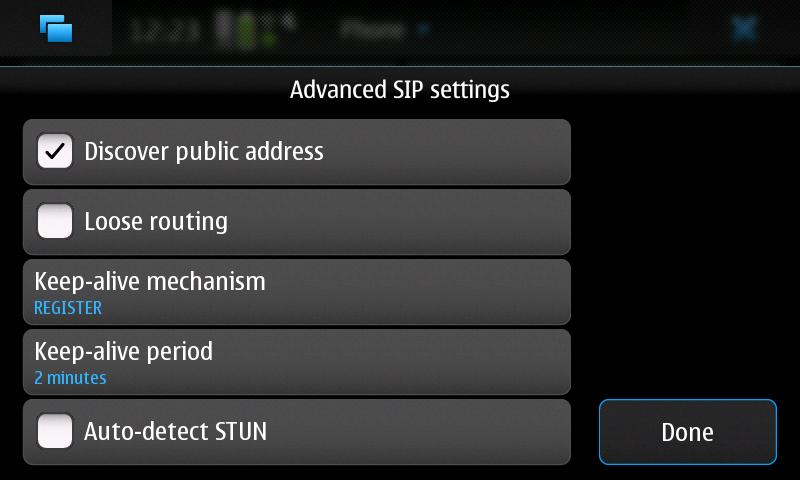 iiNet VOIP iiTalk N900 Settings #3